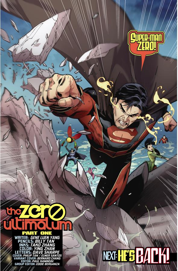 Superman Zero (New Super-Man #11)