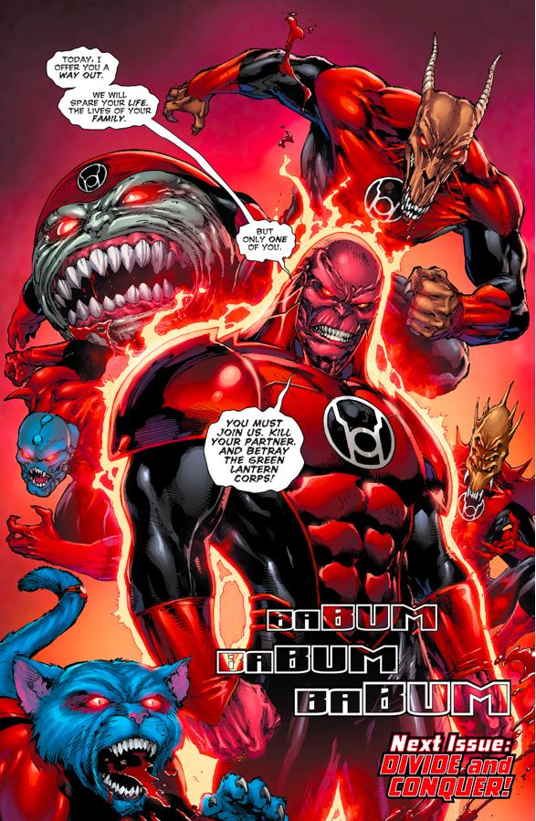 The Red Lantern Corps (Green Lanterns #4)