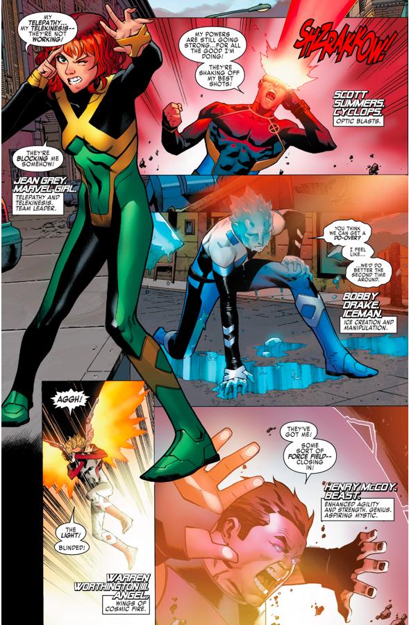 X-Men Blue VS Sentinels