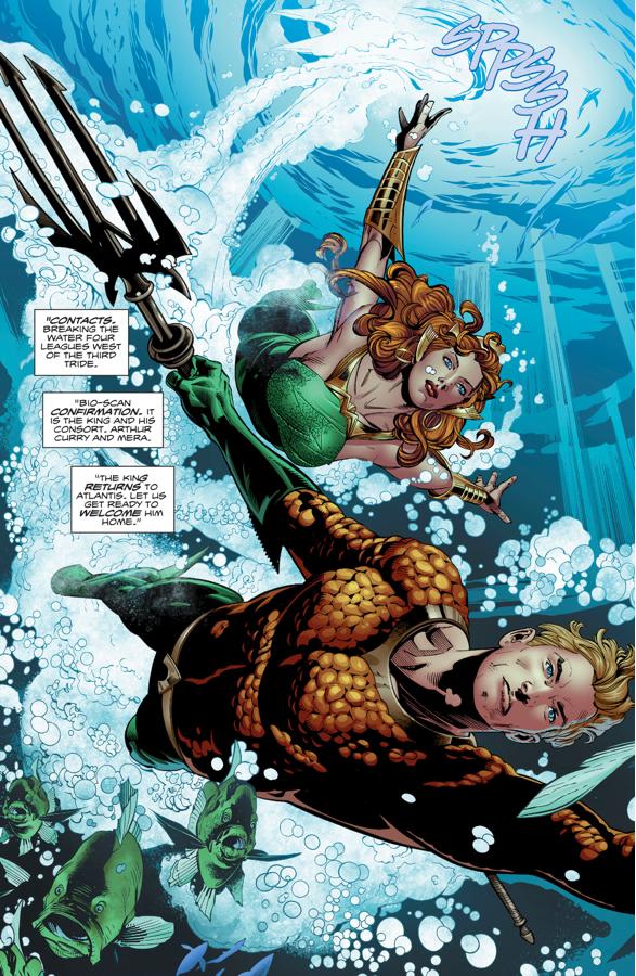 Aquaman And Mera (Aquaman Vol. 8 #24)