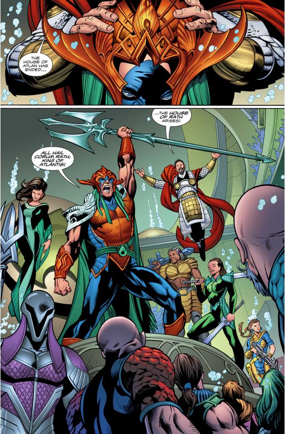 Aquaman Is Dethroned As King Of Atlantis (Rebirth)