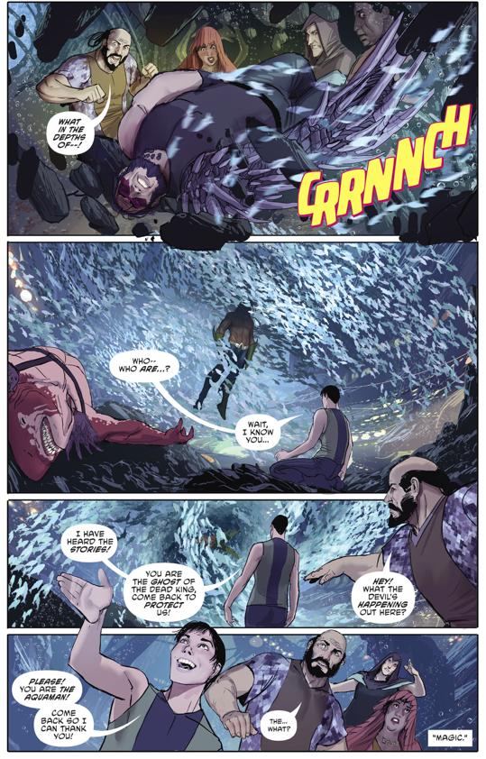 Aquaman Tries To Be Batman (Rebirth)