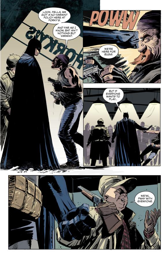 Batman And Elmer Fudd Team Up