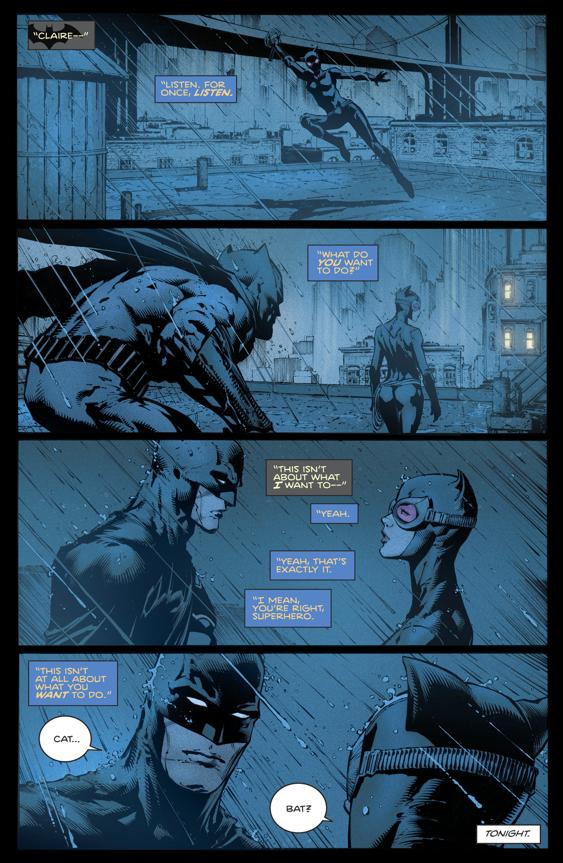Batman Proposes To Catwoman (Rebirth)