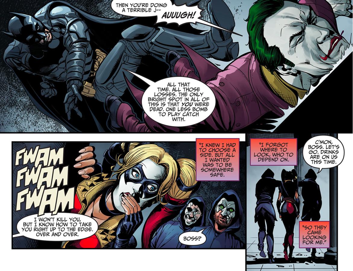 Batman Tortures The Joker (Injustice Ground Zero)