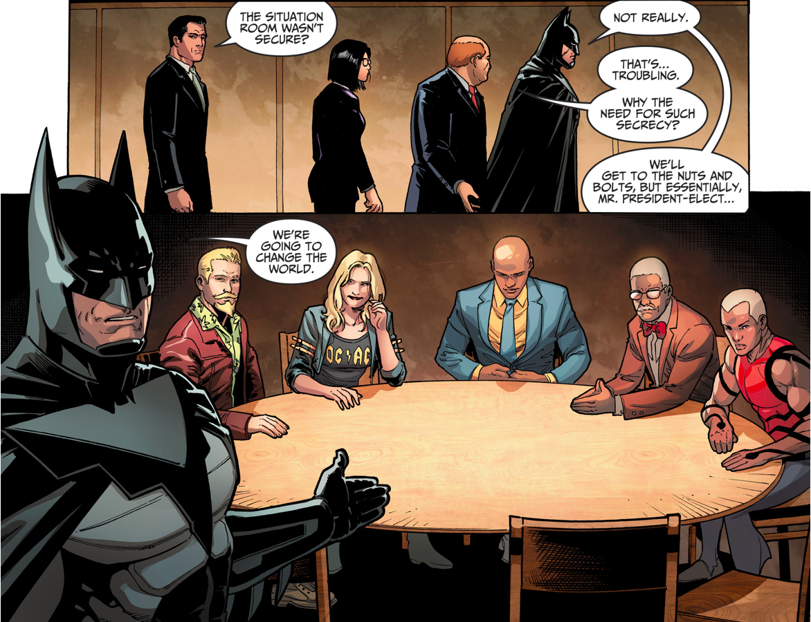 Batman's Secret Group (Injustice II)