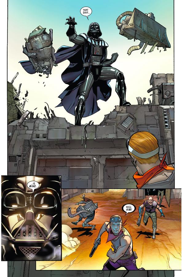 Darth Vader VS Slavers