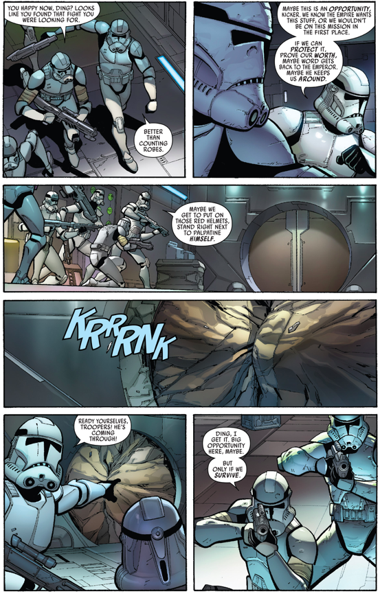 Darth Vader VS Stormtroopers