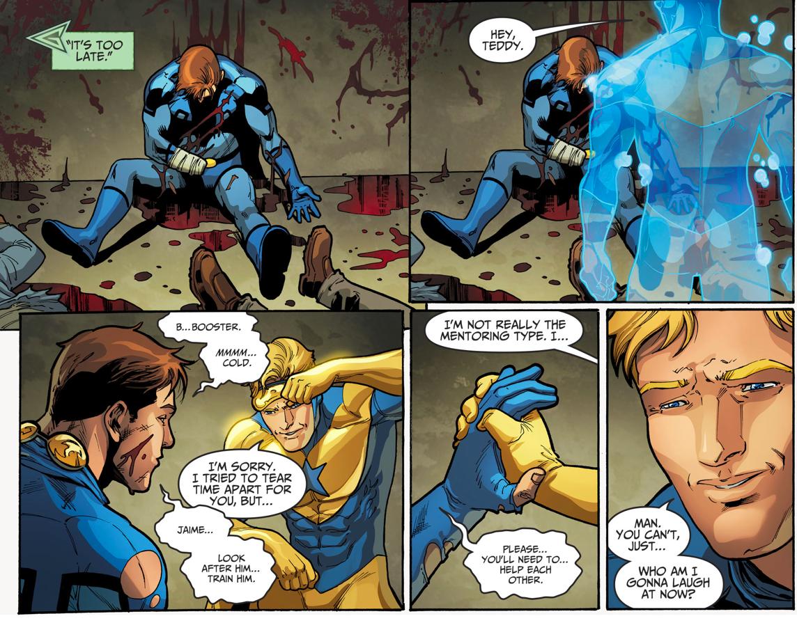 Death Of Blue Beetle (Injustice II)
