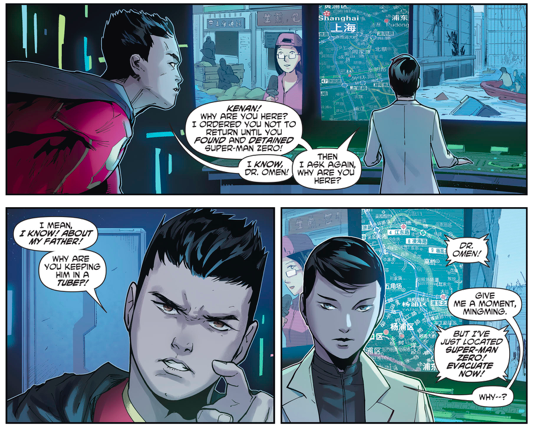 Dr. Omen Is Chinese Superman's Mother