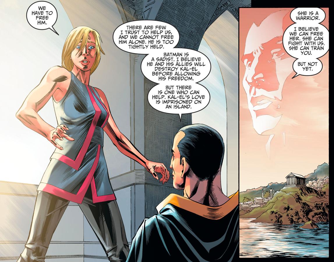 How Black Adam Recruited Supergirl (Injustice II)