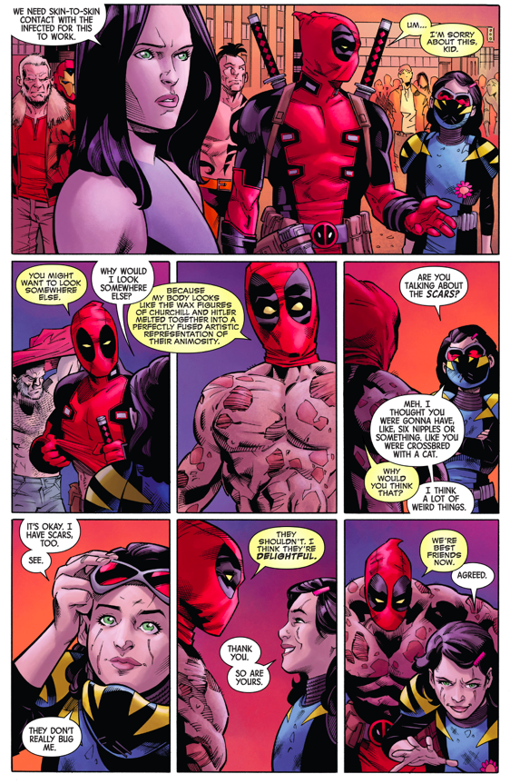 How Deadpool And Gabrielle Became Best Friends