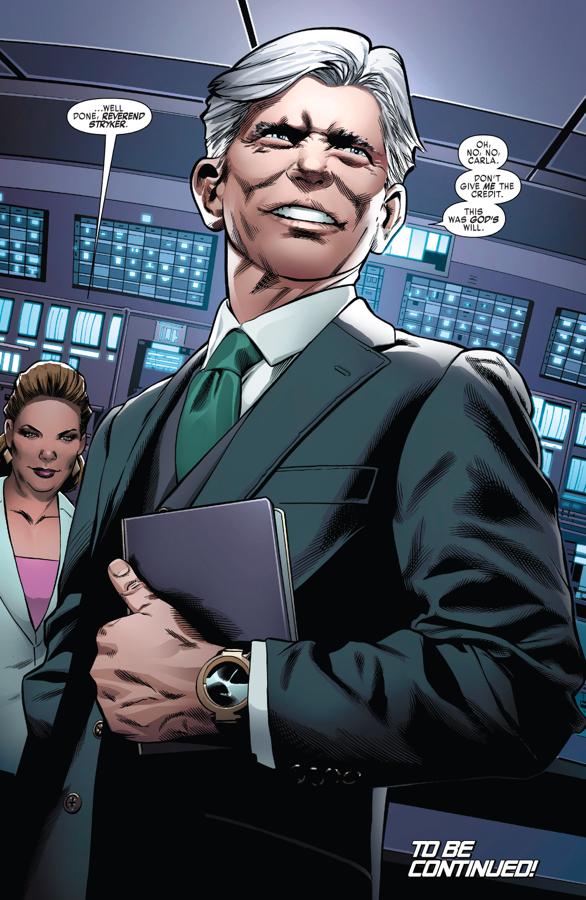 Reverend Stryker (Weapon X Vol. 3 #4)