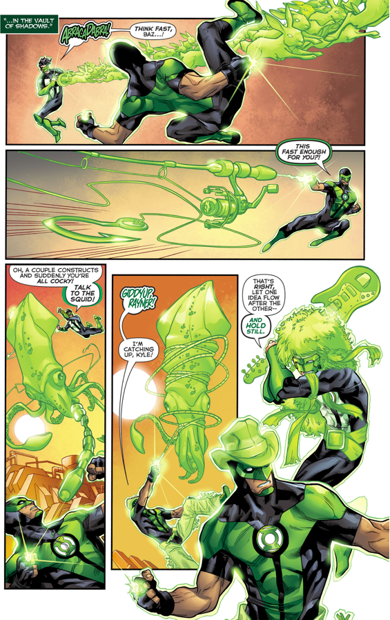 Simon Baz Passes Kyle Rayner's Training