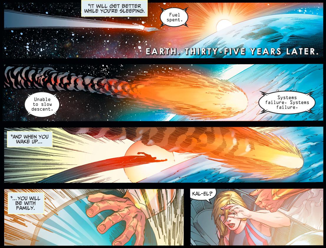Supergirl Arrives On Earth  (Injustice II)