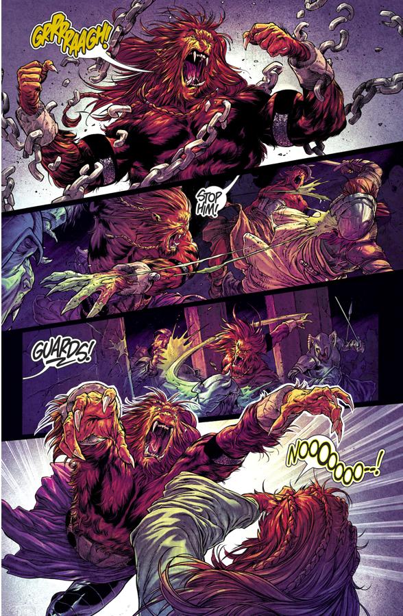 Tyran'r Becomes A Green Lantern