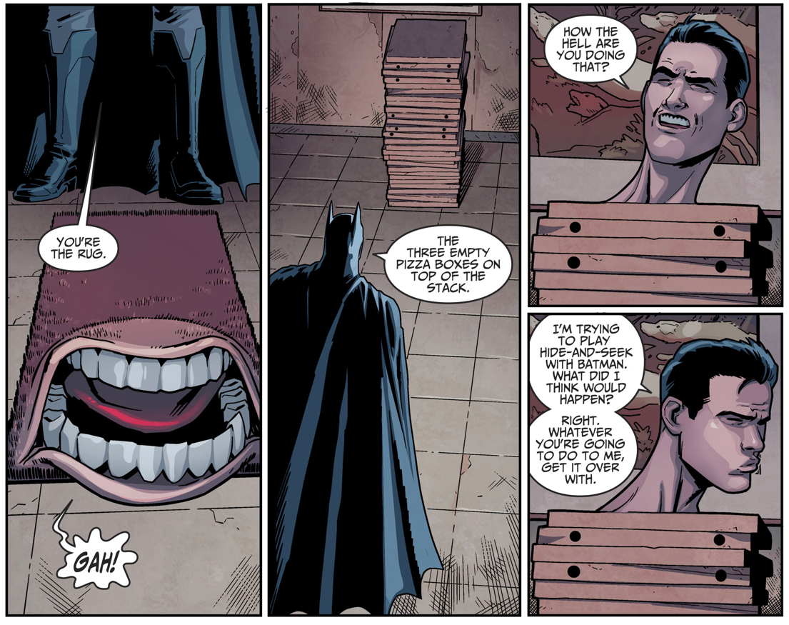 Batman Plays Hide And Seek With Plastic Man's Son