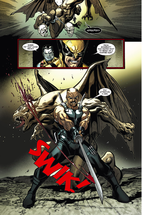 Blade Killing Vampires (Curse Of The Mutants)