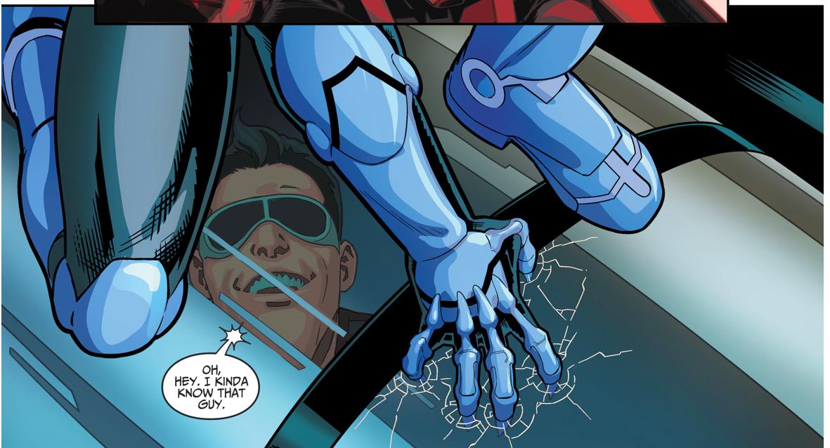 Blue Beetle Jaime Reyes (Injustice II)