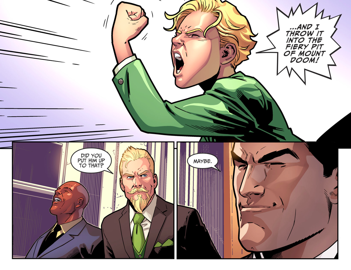 Connor Lance-Queen As Ring Bearer (Injustice II)