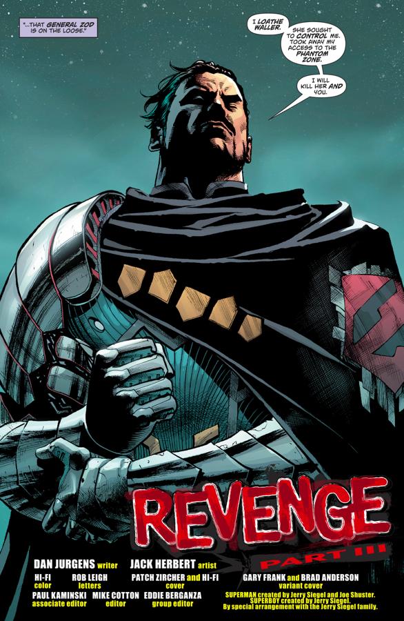 Cyborg-Superman Recruits General Zod