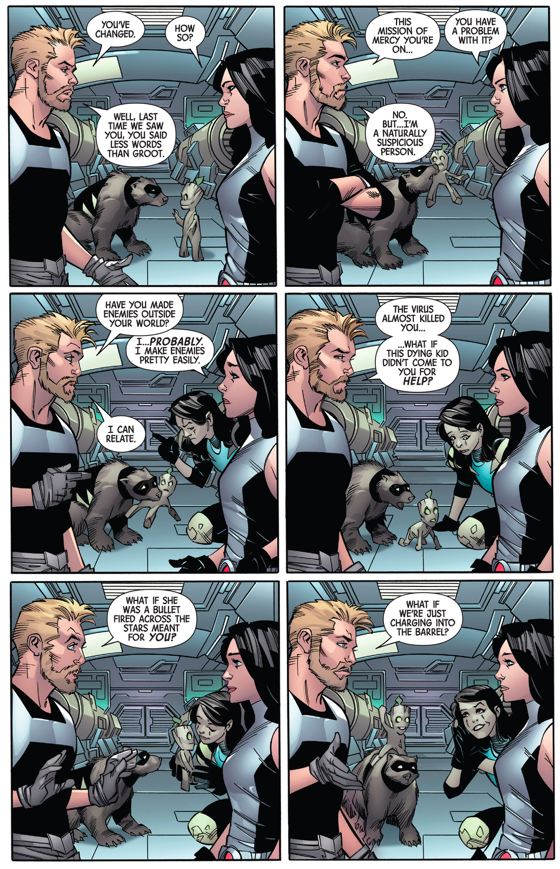 Gabrielle Meets Groot