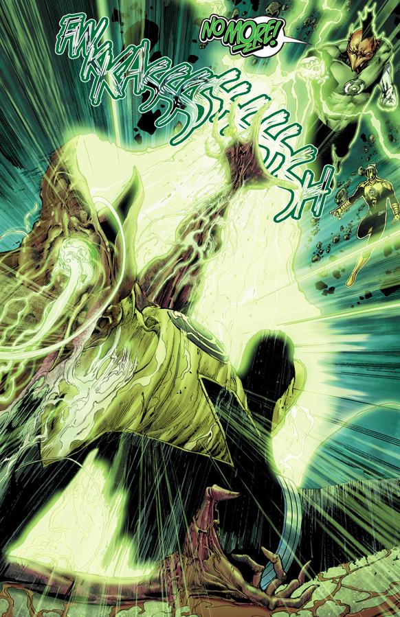 Green Lantern Tomar-Tu Kills Romat-Ru