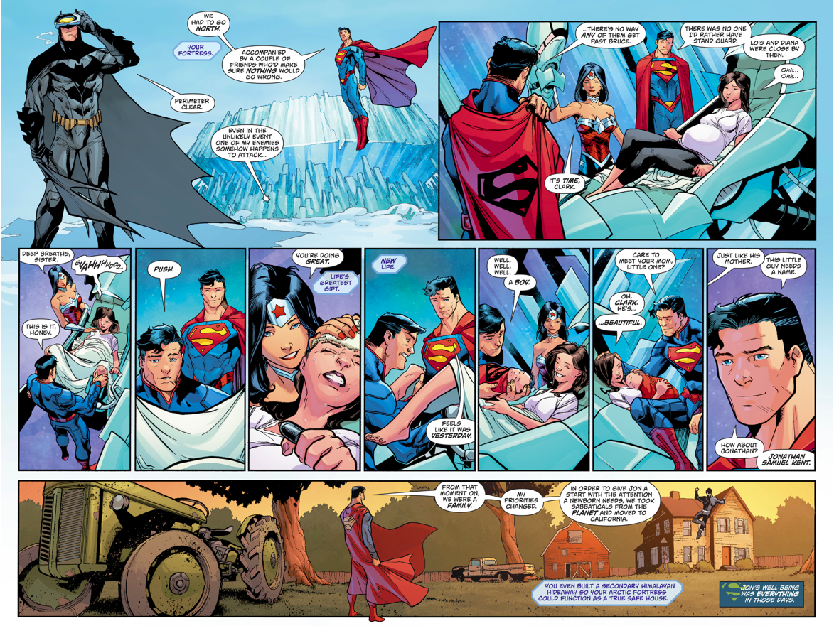 How Superboy Was Born (Rebirth)