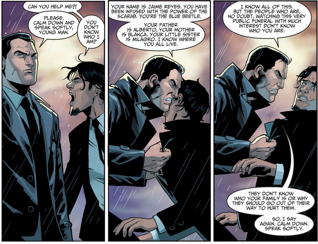 Jaime Reyes Meets Bruce Wayne (Injustice II)