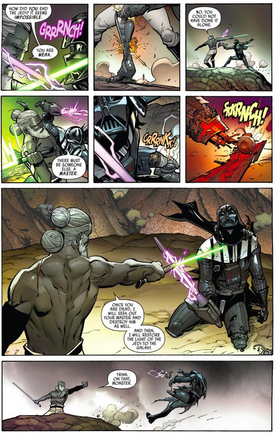 Kirak Infil'a VS Darth Vader