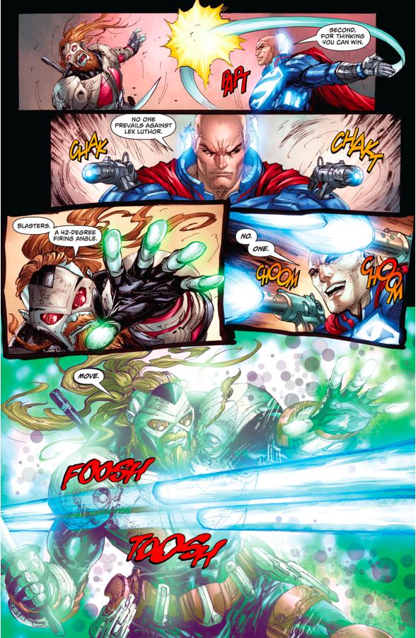 Lex Luthor VS L'Call The Godslayer