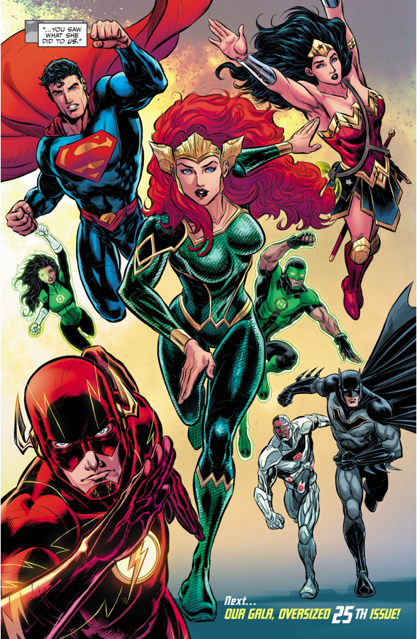 Mera Joins The Justice League (Rebirth)