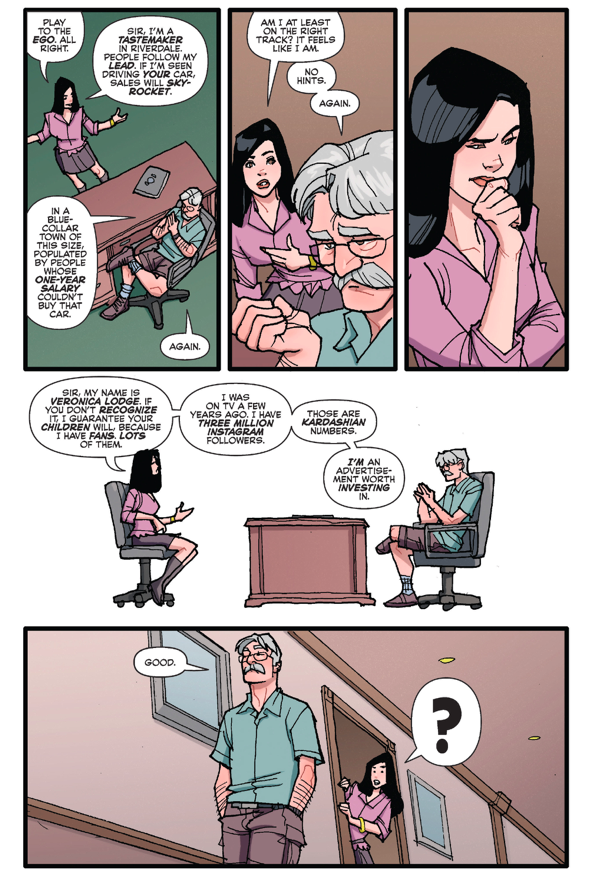 Mr. Lodge Trains Veronica Lodge How To Negotiate