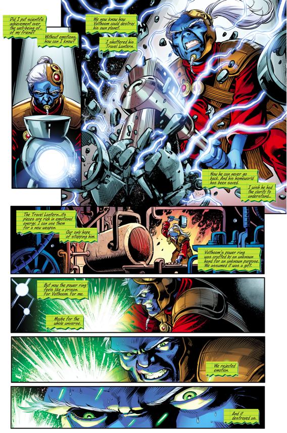 Rami Creates The First Seven Green Lantern Rings