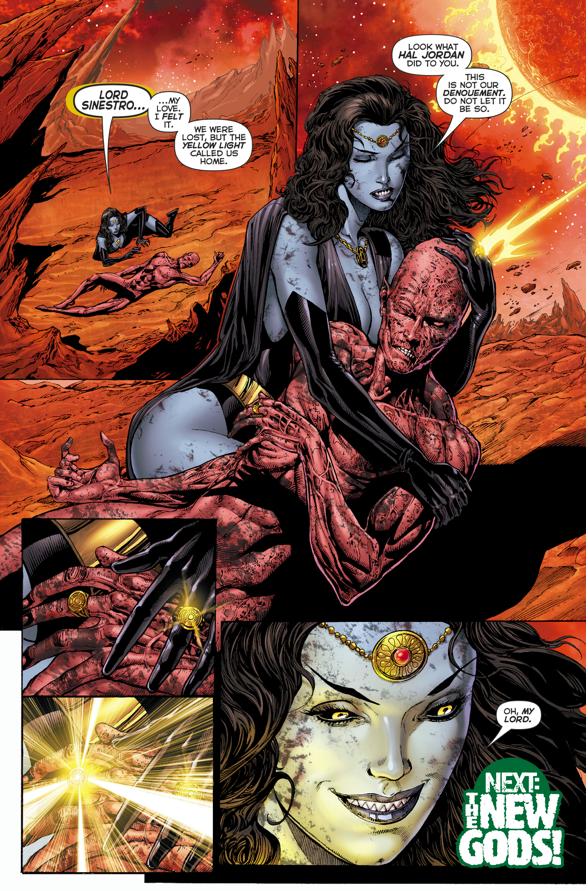Sinestro Returns From The Dead (Rebirth)