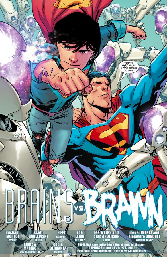 Superman And Superboy (Superman Vol. 4 #26)