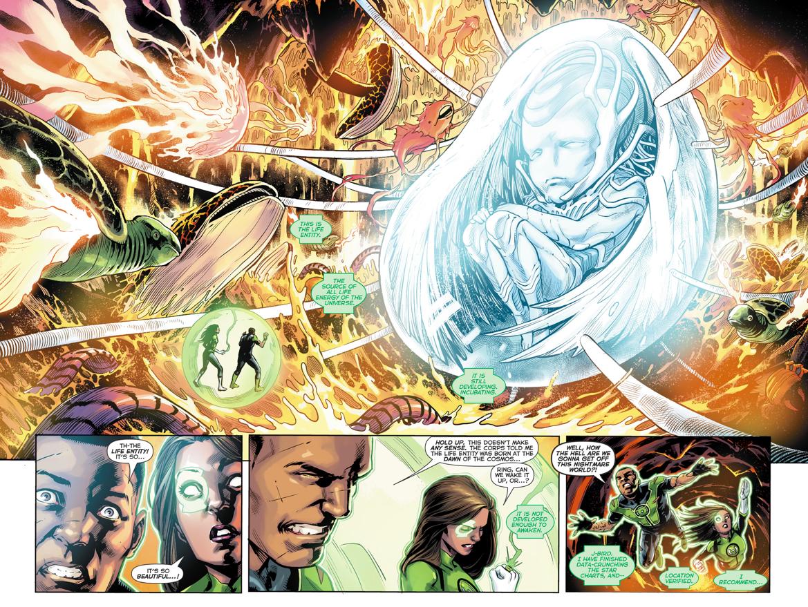 The White Entity (Green Lanterns #27)