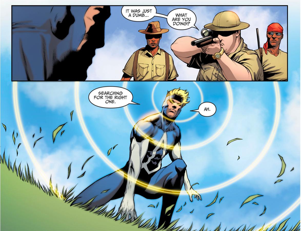 Animal Man Kills Poachers (Injustice II)