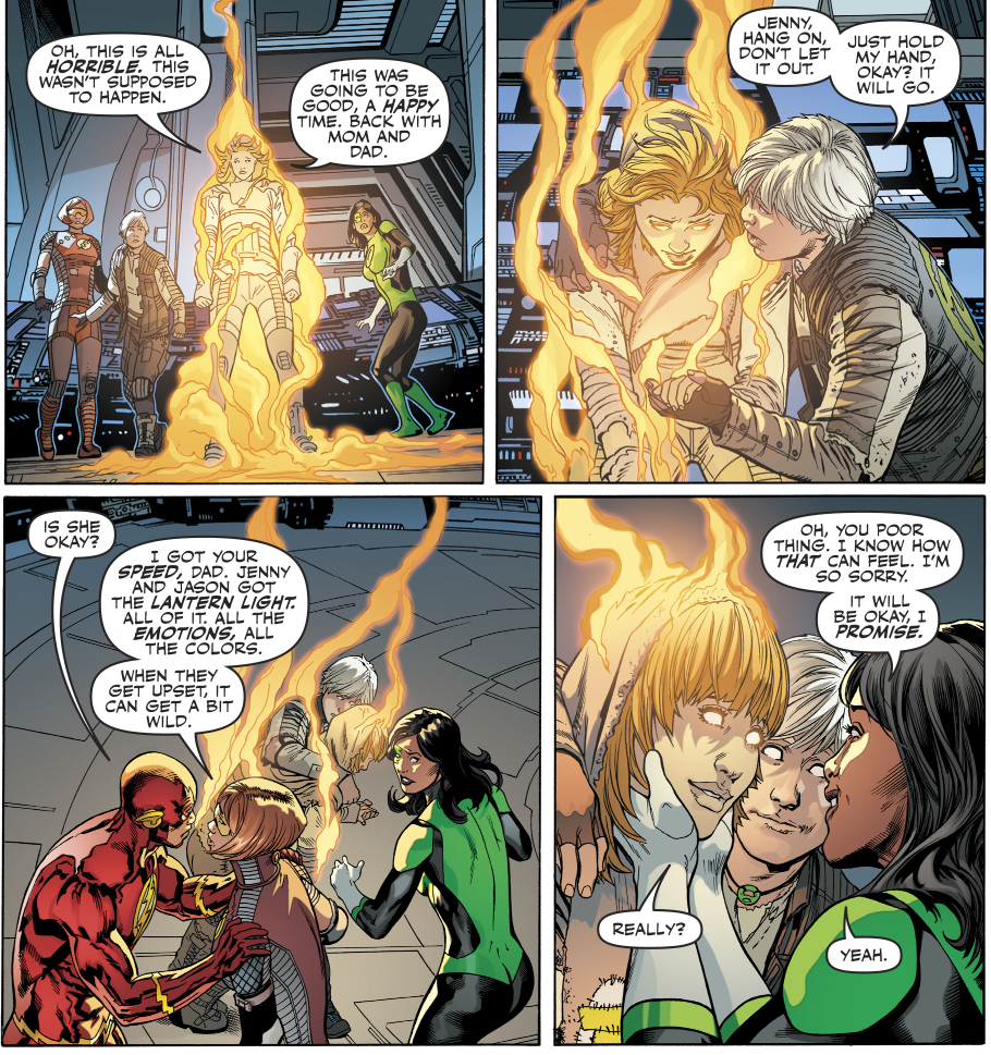 Barry Allen And Jessica Cruz's Children