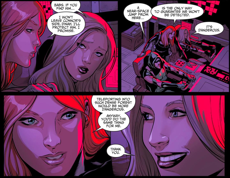 Batgirl Breaks The Sound Barrier (Injustice II)