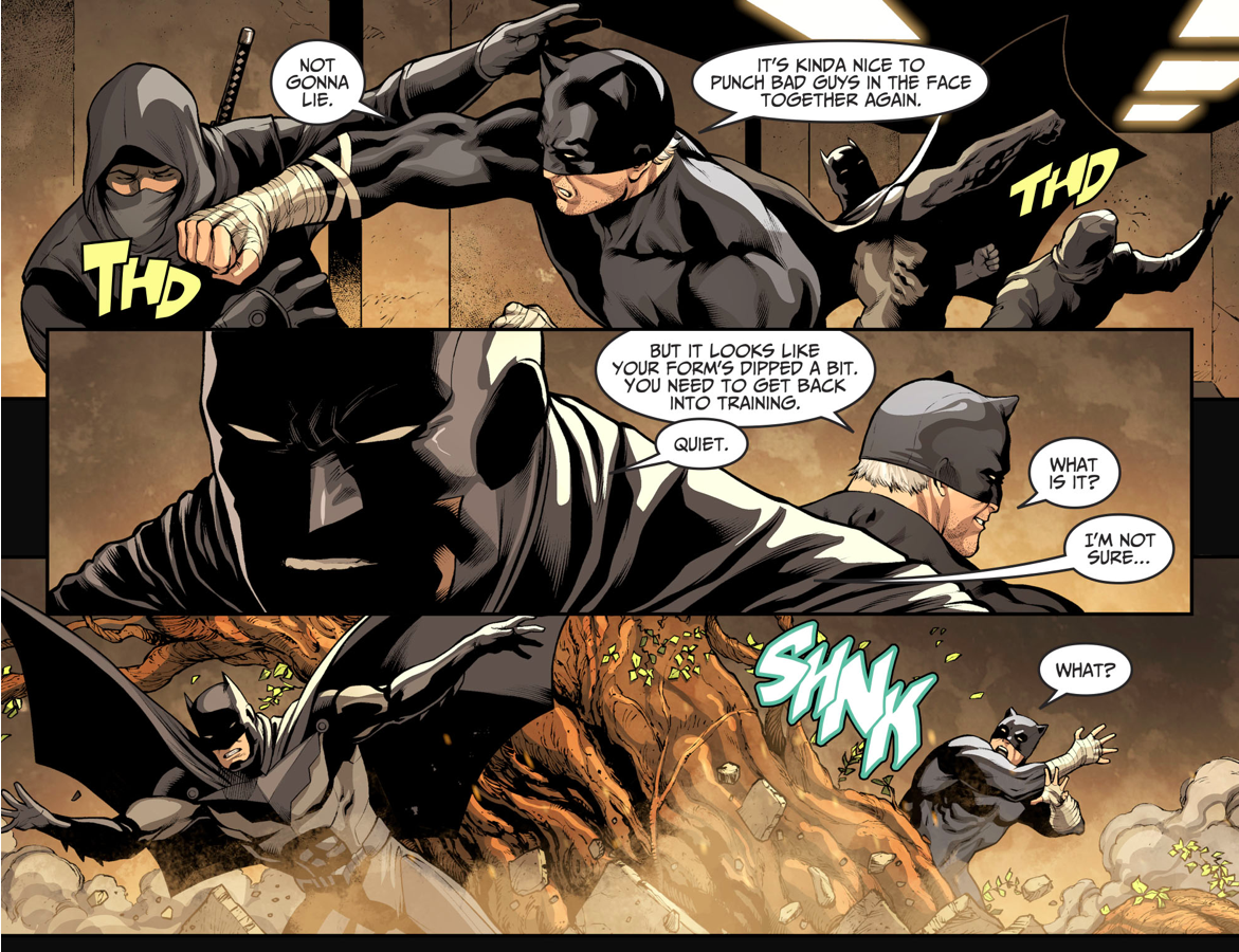 Batman And Wildcat (Injustice II)
