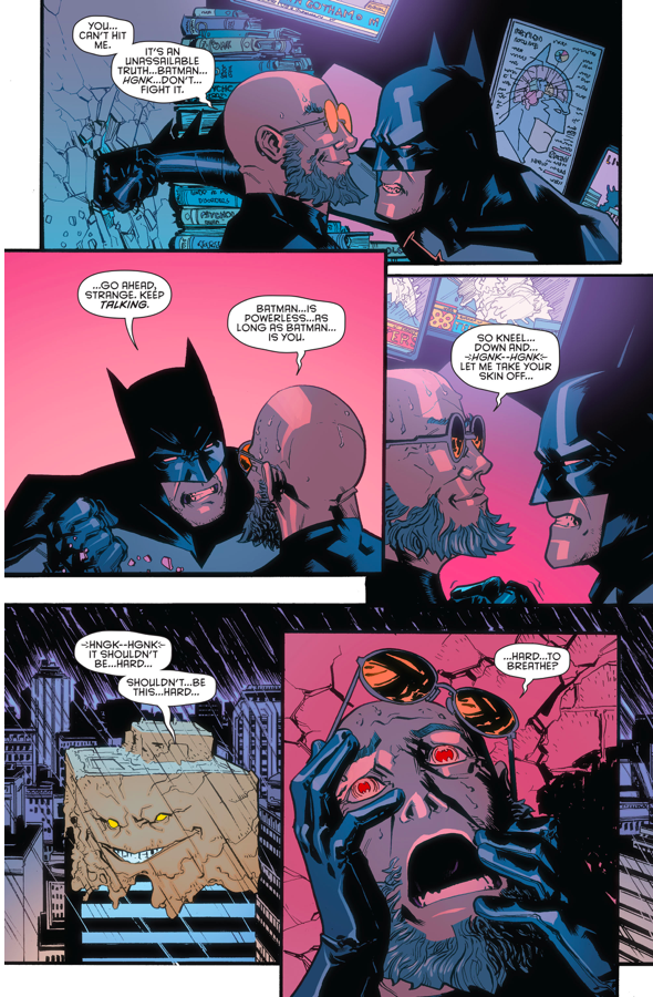 Batman VS Hugo Strange (Rebirth)