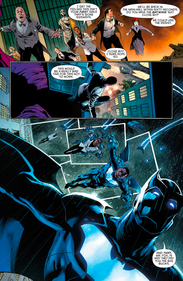 Batwing's Armor Is Similar To Iron Man's