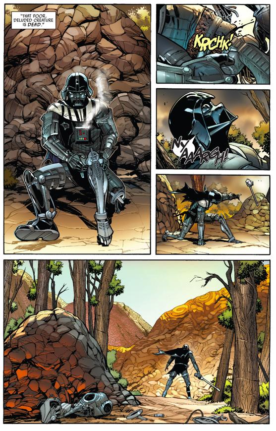 Darth Vader Repairs Himself