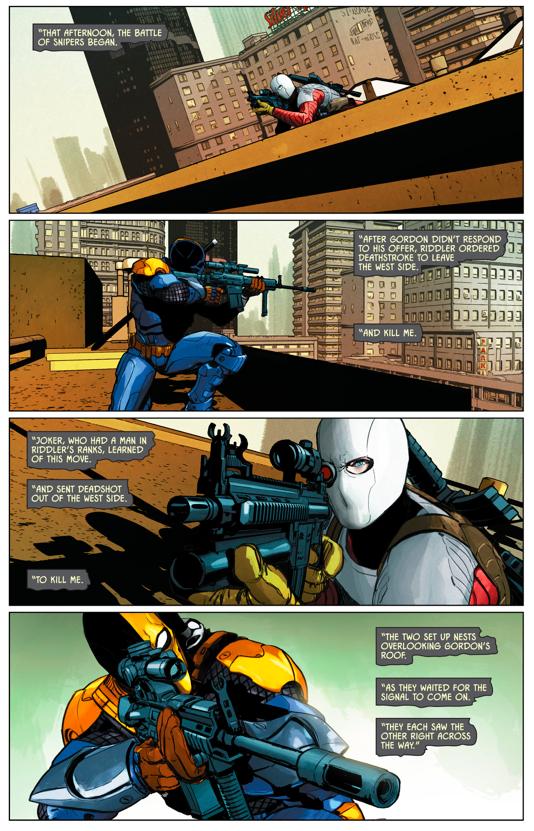 Deathstroke VS Deadshot (Rebirth)