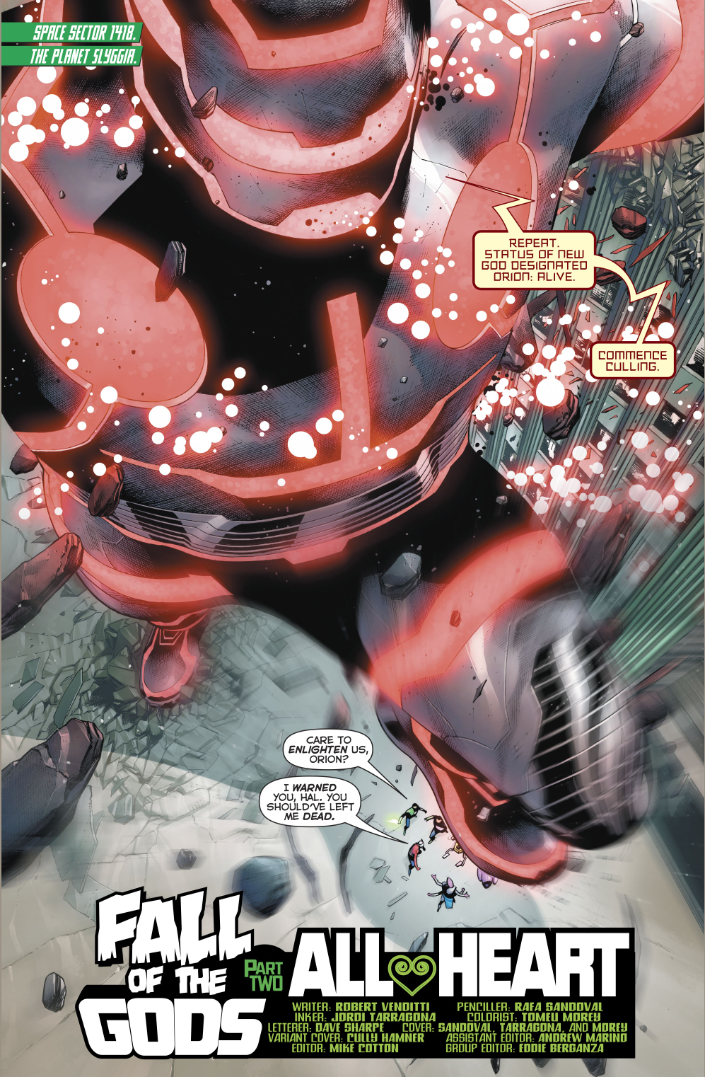 Eschaton Golem (Hal Jordan And The Green Lantern Corps #27)