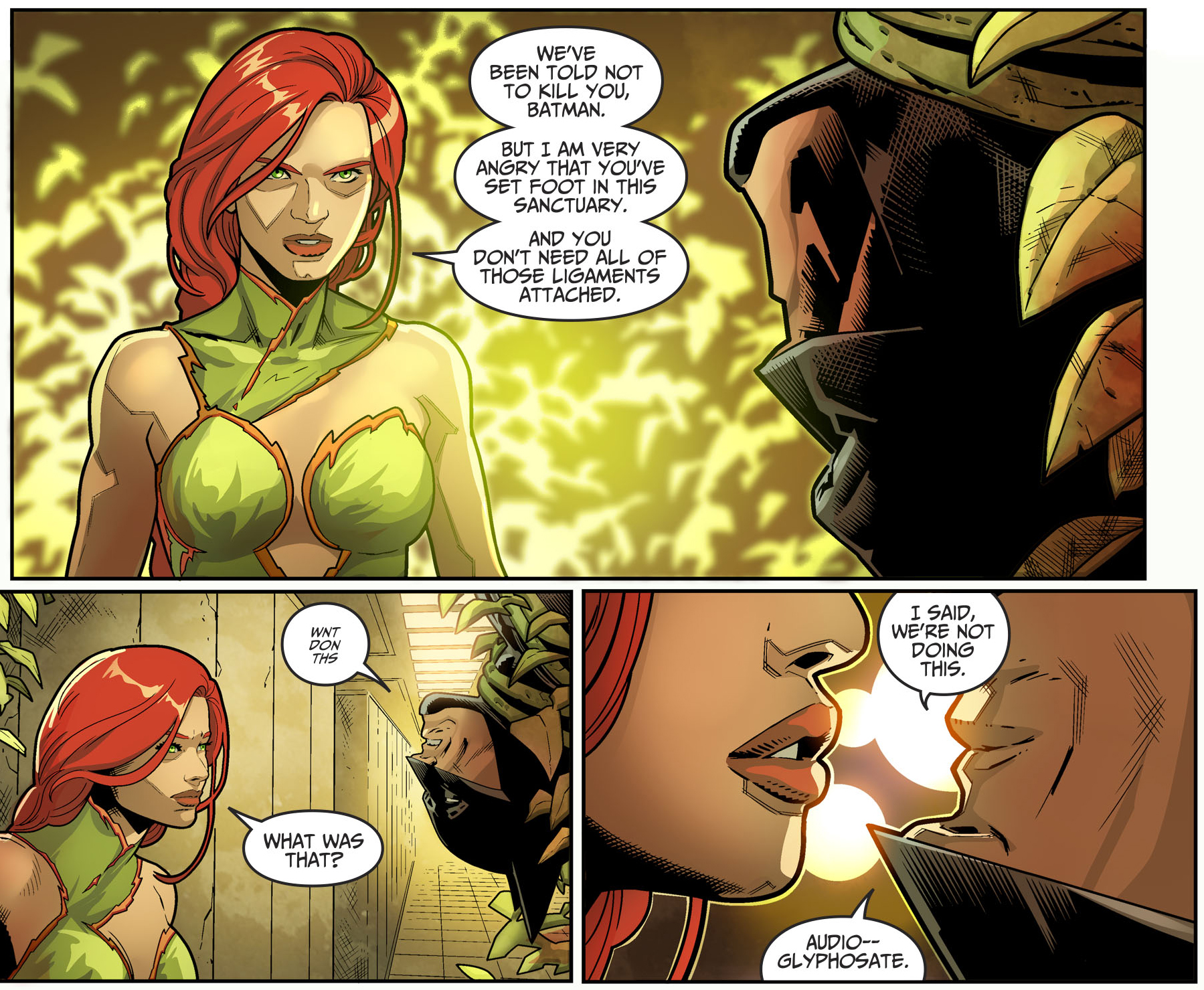 How Batman Defeated Poison Ivy (Injustice II)