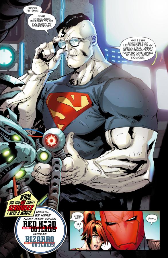 Lex Luthor Saves Bizarro
