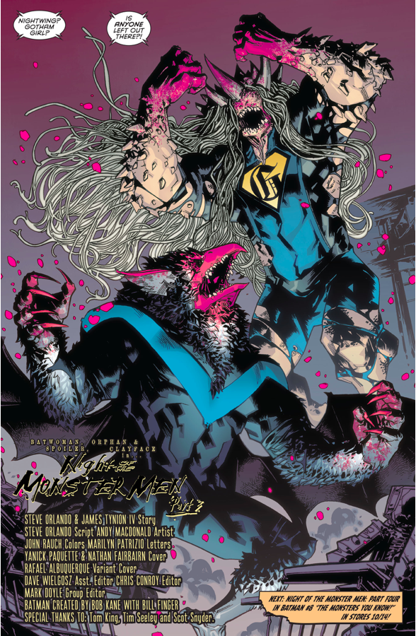 Nightwing And Gotham Girl Turn Into Monsters