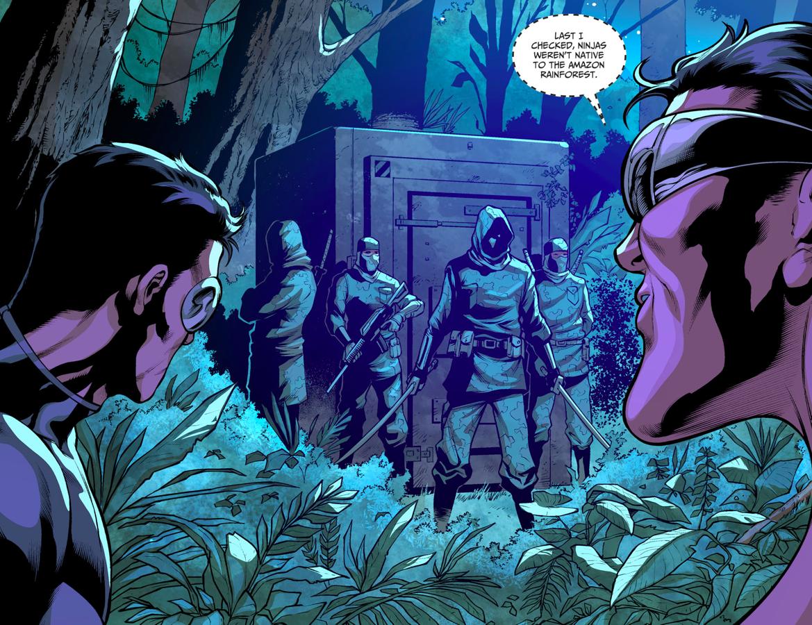 Plastic Man And Son VS League Of Assassins Ninjas (Injustice II)